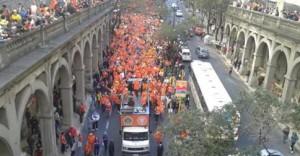 Oranjelegioen in Porto Alegre
